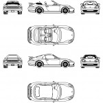 911 Porsche boxter