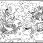 Autocad ejderha motifi