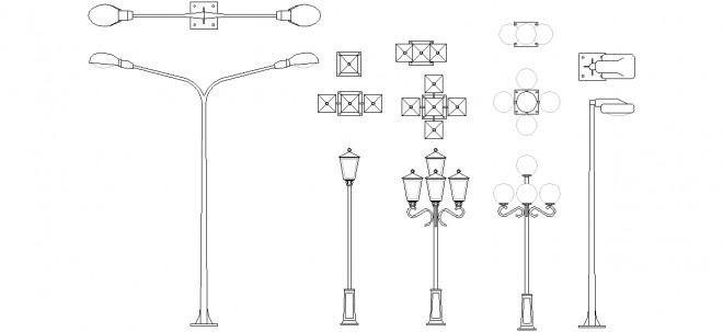 autocad-sokak-lambalari