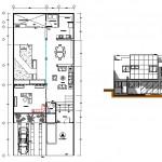 Çift katlı ev planı