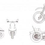 Motosiklet çizimleri