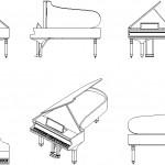 Piyano çizimi