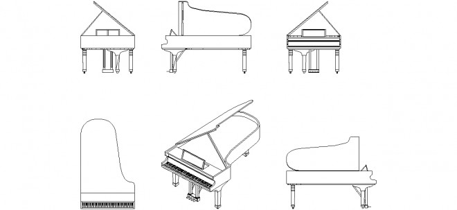 piyano-cizimi