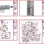 Tek katlı villa elektrik projesi