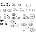 Teknik motor çizimleri