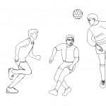 Top oynayan insanlar