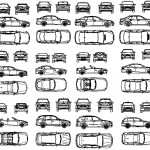 12 adet bmw çizimi