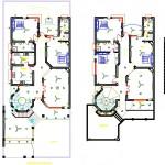 3 katlı ev elektrik projesi