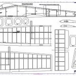 A 10 s 400 model uçak planı