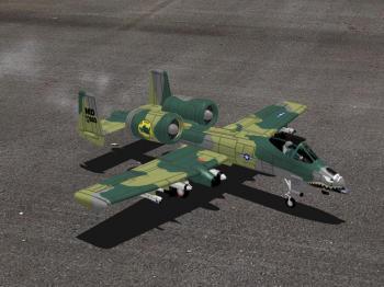 A 10 s 400 model uçağın fotoğrafı