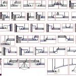 Alçıpan asma tavan detayları dwg