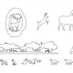 Autocad hayvan çizimleri