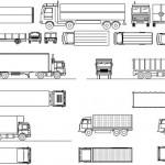 Autocad kamyon çizimleri