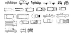 autocad-kutuphanesi-arabalar-dwgindir