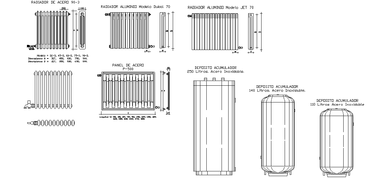 Autocad radyat r izimleri panel radyat r izimi for Radiatori dwg
