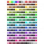 Autocad renk kodları