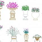 Bahçe çiçeklikleri