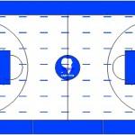 Basket sahası çizimi