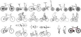 bisiklete-binen-insanlar-dwgindir