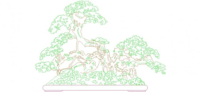 bonsai-agaci-dwg-dwgindir