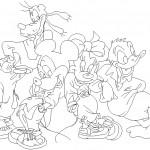 Disney karakterleri çizimi