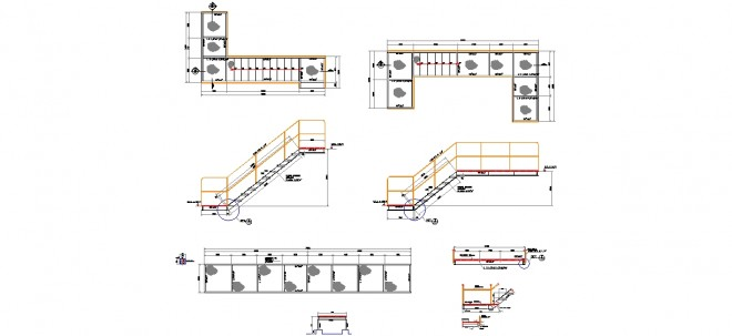 endustriyel-tesisler-icin-metal-merdiven-platformu-dwgindir