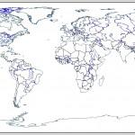 Fiziki dünya haritası çizimi