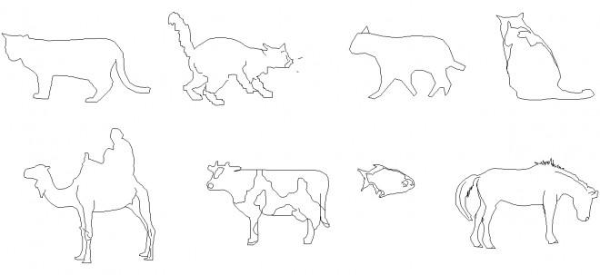 hayvan-siluetleri-dwgindir