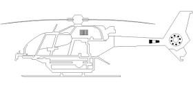 helikopter-cizimi-autocad-dwgindir
