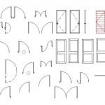 Kapı plan ve görünüşleri