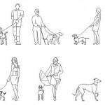 Köpekli insan tefrişleri