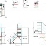 L merdiven detayı