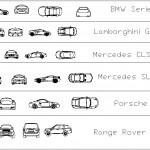 Lüks otomobil çizimleri