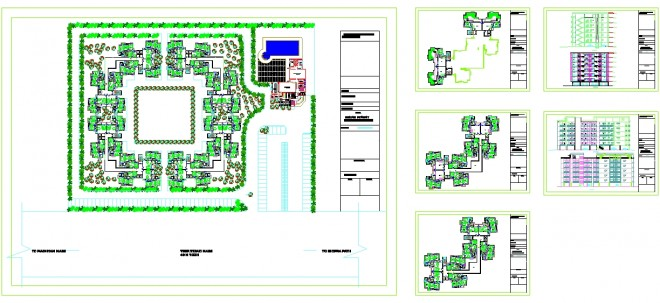 mimari-site-projesi-dwgindir-1