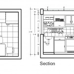 Mutfak detay çizimi