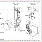Sarmal merdiven detayı