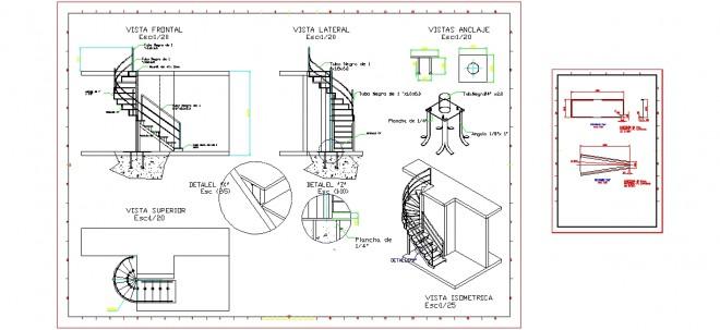 sarmal-merdiven-detayi-dwgindir