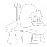 Şirinler ve evi