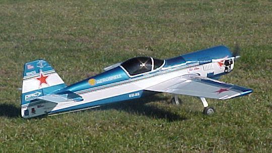 Sukhoi su 26mx model uçak fotoğrafı