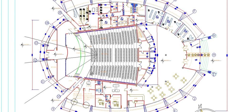 Tiyatro binası planı