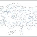 Türkiye fiziki haritası dwg