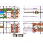 3 katlı otel projesi