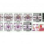 Apartman elektrik ve ptt projesi