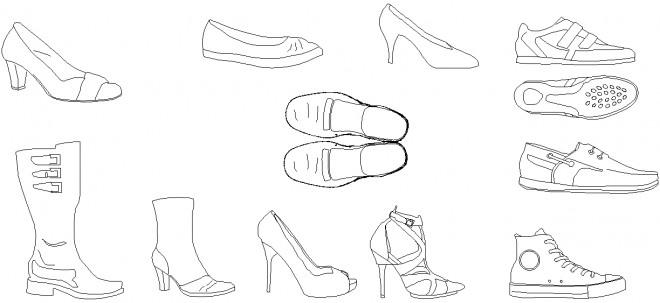 autocad-ayakkabi-cizimleri-dwgindir