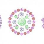 Çiçekli göbek düzenlemeleri