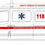 Dwg ambulans çizimi