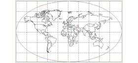 dwg-dunya-haritasi-cizimi-dwgindir