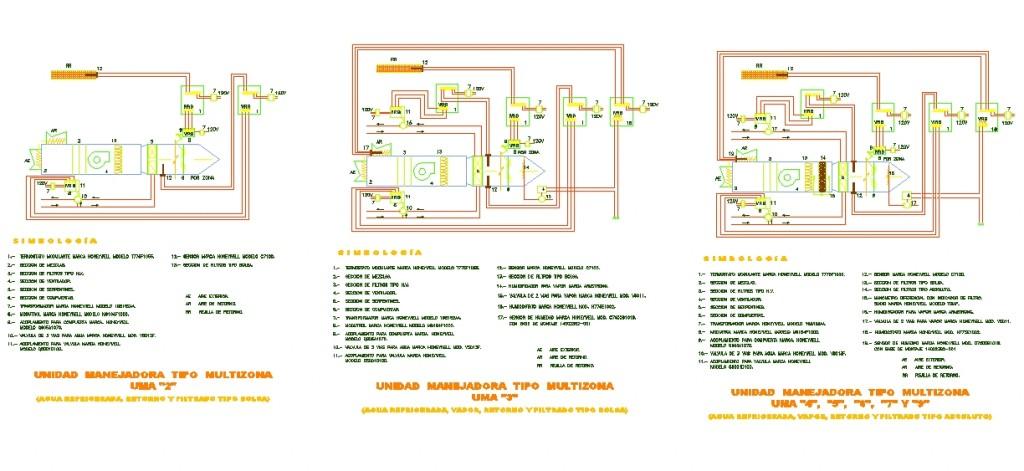 Klima bağlantı ve montaj detayları yakından görünüş 2