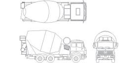 mikser-kamyonu-cizimi-dwgindir