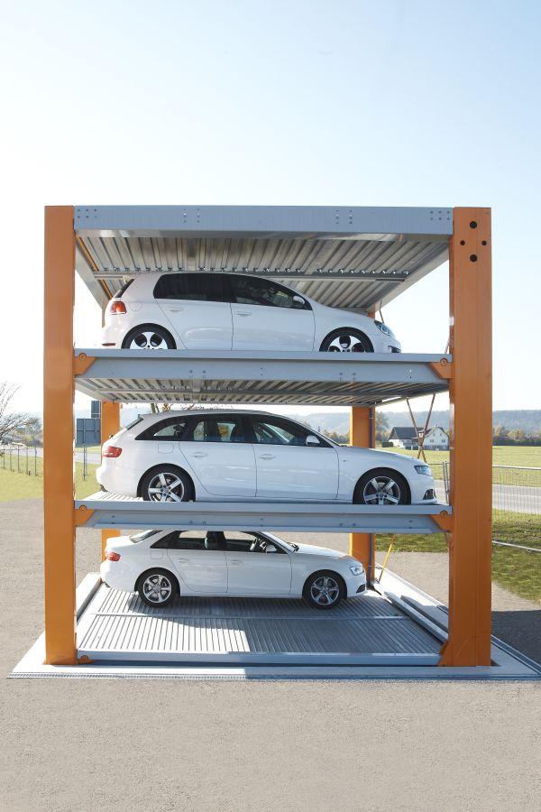 Otomatik araç parkı sistemi fotoğrafı 1